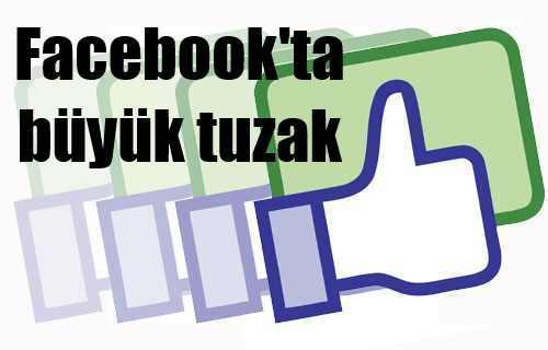 Facebook reklamında korkunç tuzak