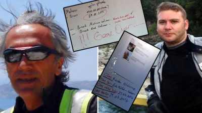 Halfeti'de iki motorcunun katili, para için öldürmüş