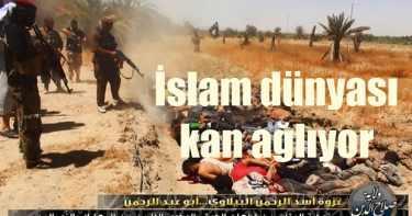 Her gün bin müslüman katlediliyor, hem de...