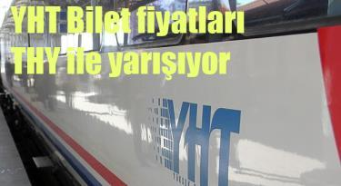 Hızlı Tren Bilet Fiyatları THY ile yarışıyor
