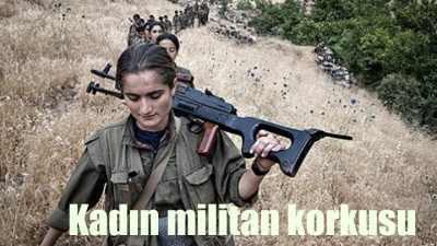 IŞİD'li katillerin PKK'lı kadın militan korkusu