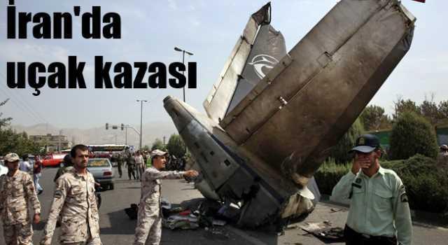 İran'da uçak kazası, 39 ölü var