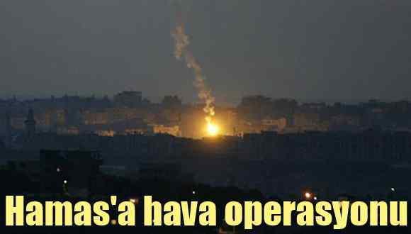 İsrail Ordusu, Gazze'de Hamas hedeflerini vurdu