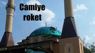 İstanbul Ahat Camii'ne roket mermisi düştü