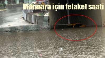 İstanbul için felaket saati