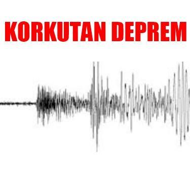 Japonya'da korkutan deprem, 6.8