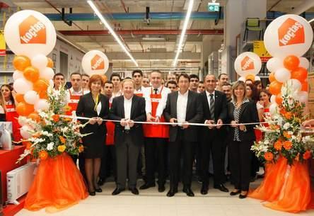 Koçtaş'ın 40'ıncı mağazası Gaziantep Forum AVM'de hizmete açıldı
