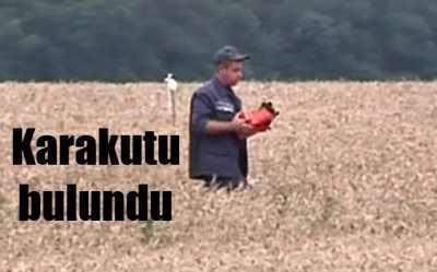 Malezya uçağının kara kutusu bulundu