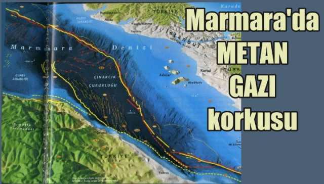 Marmara Denizi'nde deprem korkusu