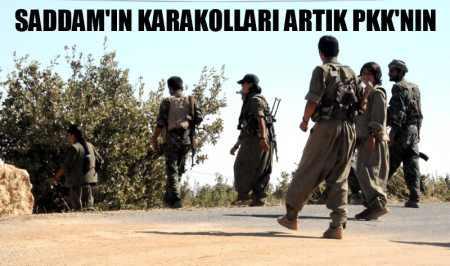 PKK'ya Irak'ta resmi karakolları verdiler