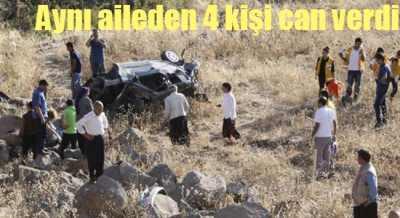 Şanlıurfa'da feci kaza, 4 kişilik aile yok oldu!