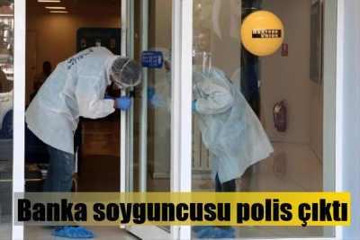 Sarıyer'de banka soyguncusu polis çıktı
