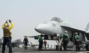 Şok gelişme, Amerikan uçakları IŞİD mevzilerini bombalıyor