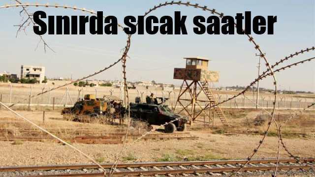 Suriye sınırından Mehmetçi'ğe taciz ateşi