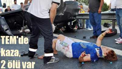 Tekstilkent'te feci kaza, 2 ölü var