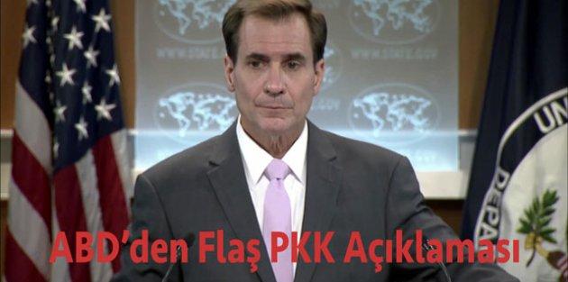 ABD: Türkiyenin PKK saldırılarına karşı kendini savunma hakkı var
