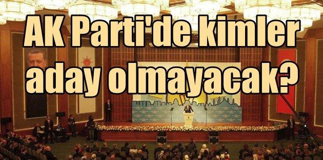 AK Partide kimler gidiyor, kimler kalıyor; 73 vekil aday olamayacak?