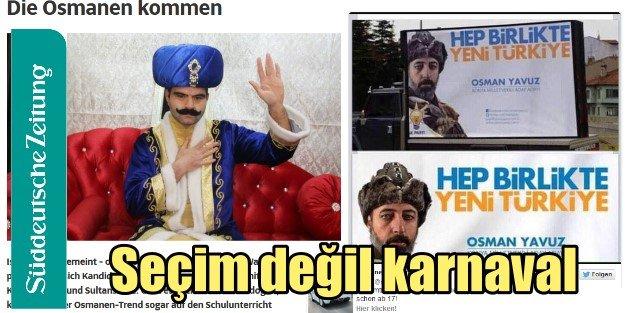 Alman basını Osmanlı adaylarını böyle duyurdu