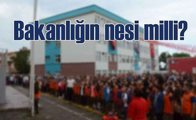Bakanlığın adı 'Milli' ama: Türk kelimesi bakanlığa battı