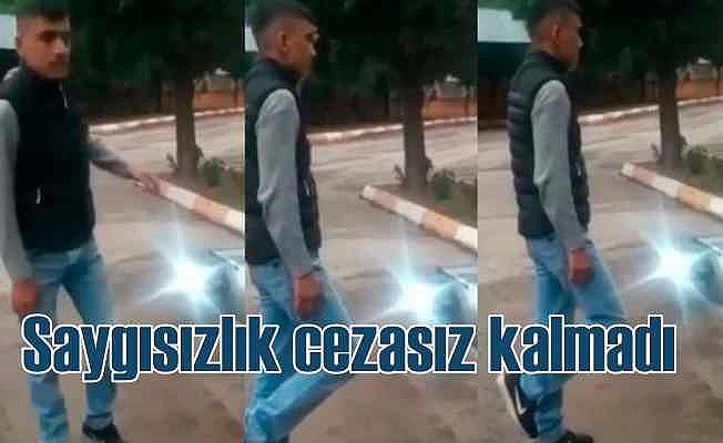 Atatürk büstüne saldıranlara unutulmaz ceza