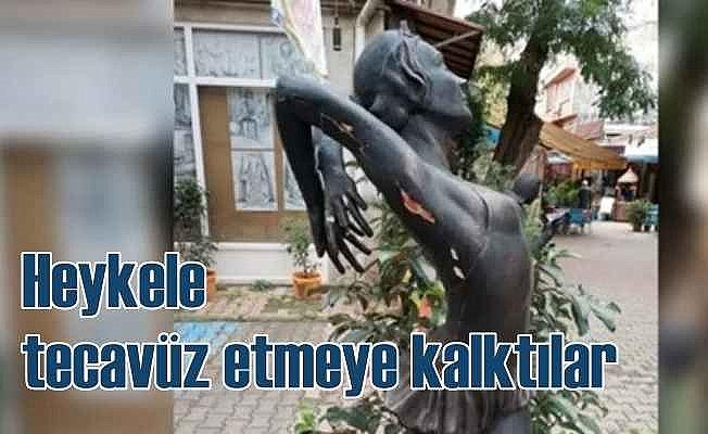 Balerin heykeline tecavüz girişimi; Böyle ahlaksızlık görülmedi