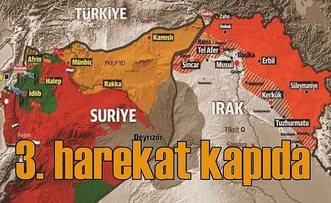 Suriye'ye 3. harekat her an başlayabilir...
