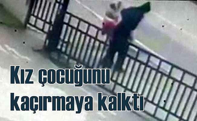Küçük kızı kaçırmaya çalışan adam yakalandı