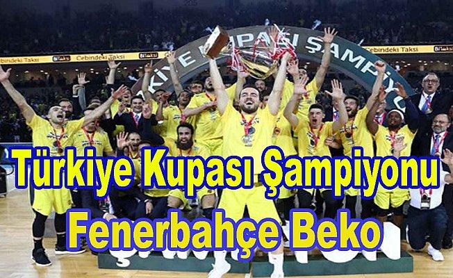 Türkiye Kupası Fenerbahçe Beko'nun