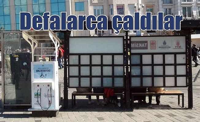 Taksim'in göbeğinde defalarca çaldılar