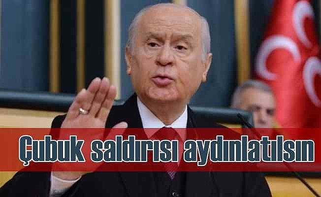 Devlet Bahçeli | Kılıçdaroğlu'na yapılan saldırı incelenmeli