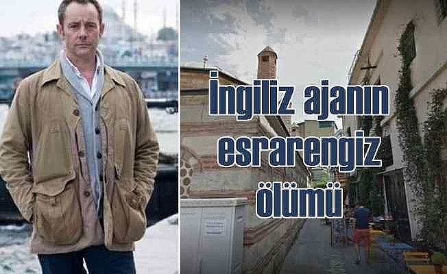 Karaköy'de öldürülen İngiliz casus Suriye'den gelmiş