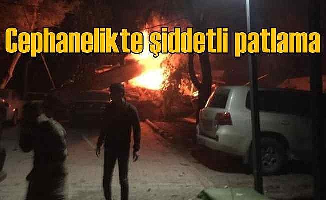 Şanlıurfa'da Zırhlı Tugay Komutanlığı'nda şiddetli patlama 14 yaralı var