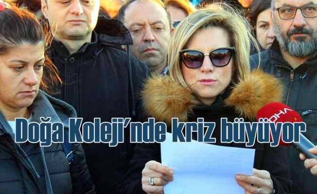 İzmir Doğa Koleji velilerinden, öğretmenlere destek geldi