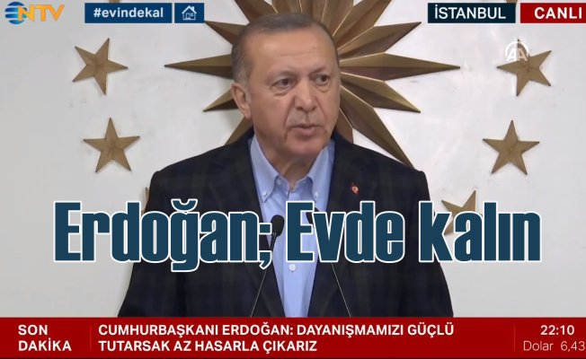 Erdoğan | İlaç ve gıda sıkıntımız yok, fazlamız var