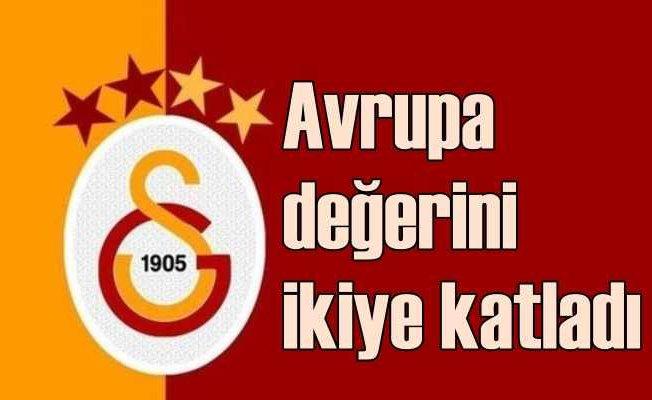 Avrupa'nın en çok büyüyen kulübü Galatasaray