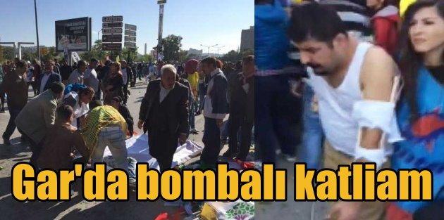 Ankara Garında bombalı katliam, 20 ölü var