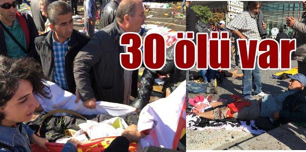 Ankara Garında Patlama: Bakanlık açıkladı, 30 ölü, 126 yaralı var