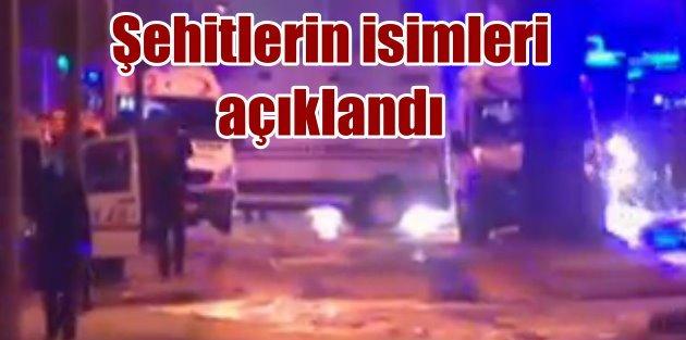 Ankara'da patlama, hayatını kaybedenlerin isimleri açıklandı