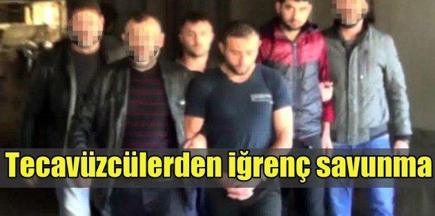 Ankarada seri tecavüz; Zanlılardan iğrenç savunma