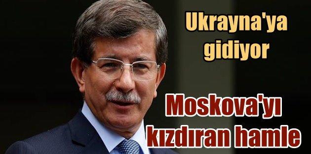 Ankara'dan Kırım hamlesi; Davutoğlu, Ukrayna'ya gidiyor