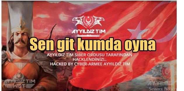 Anonymous'a  Osmanlı tokadı; Madara oldular