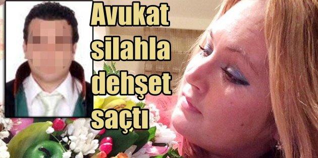Antalyada silahlı avukat dehşeti, Rus kadını kurşun yağmuruna tuttu
