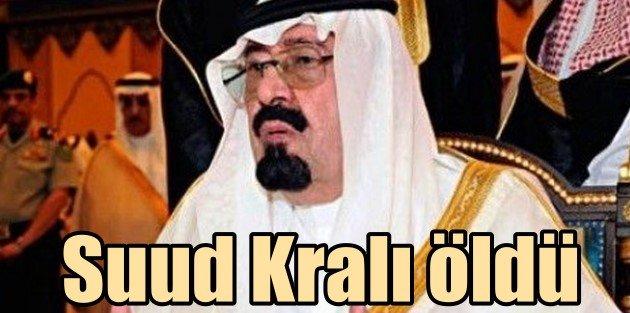 Arabistan Kralı Abdullah Bin Abdulaziz Al Suud öldü