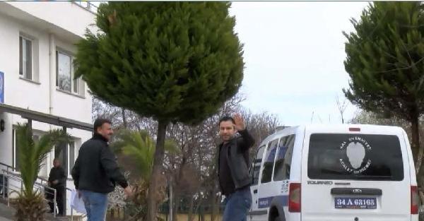 Atilla Taş, polis merkezinde (1)