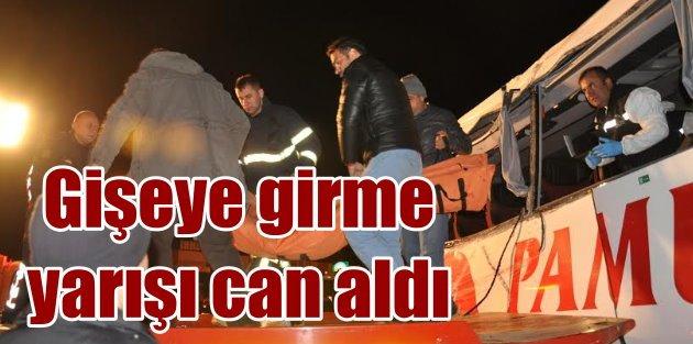 Aydın'da otobüslerin gişe yarışı can aldı