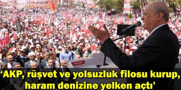 Bahçeli AKP Rüşvet ve Yolsuzluk Filosu Kurup, Haram Denizine Yelken Açtı