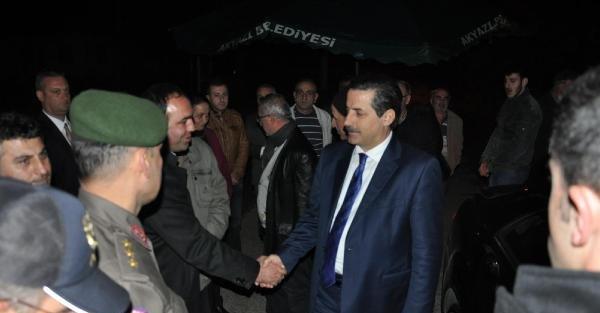 Bakan Çelik'ten Akyazı'da Başsaglığı Ziyareti