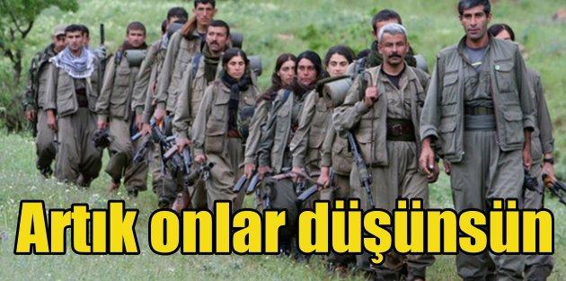 Bakandan sert sözler: Artık PKKlılar düşünsün