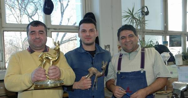 Bambi Ödüllerini Türk Ustalar Hazırladı