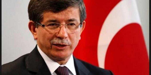 Başbakan Ahmet Davutoğlu...